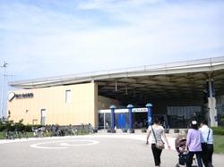 江の島水族館入口